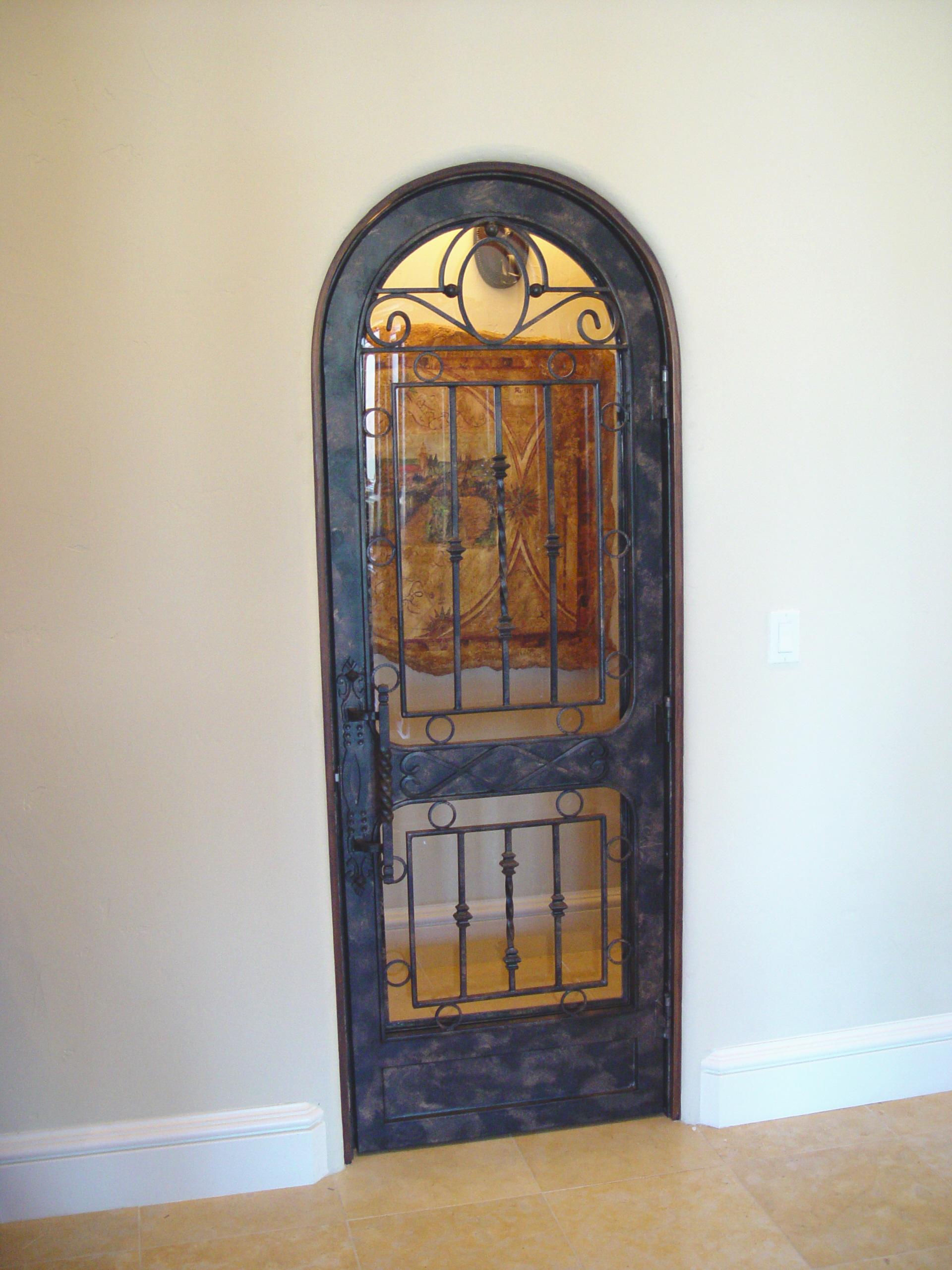 Wine Cellar Doors Precision IronWorks